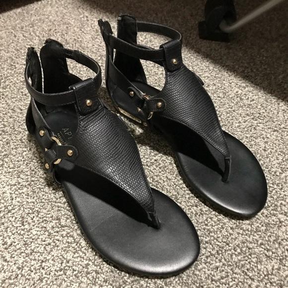 Black Business Casual Sandals | Poshmark